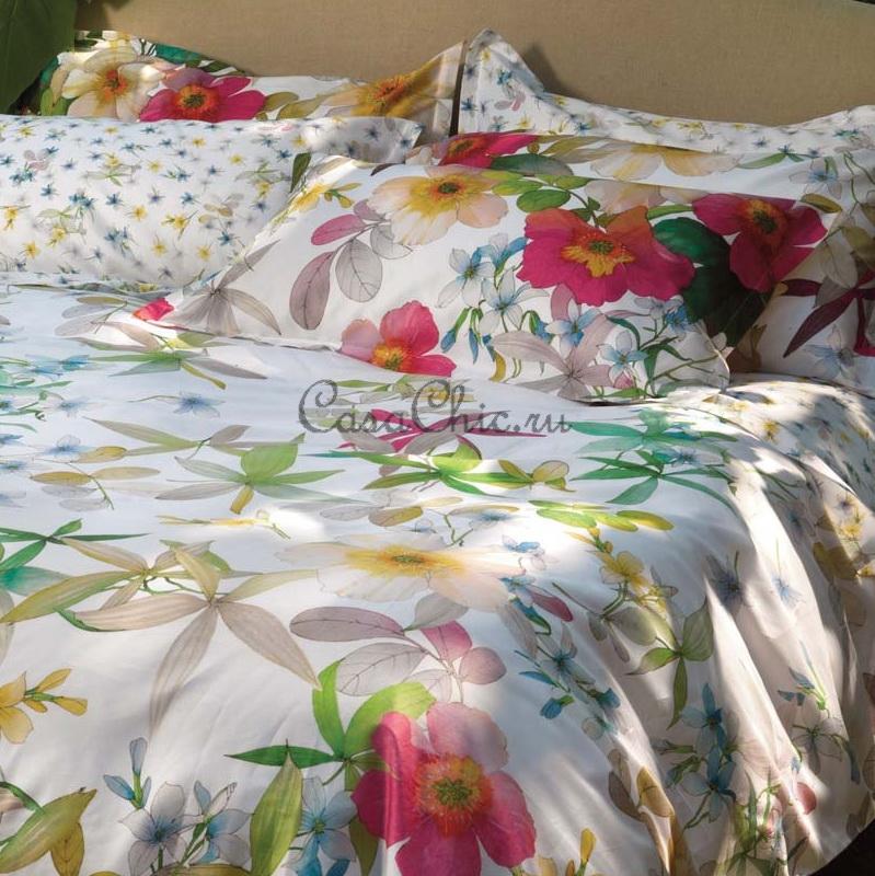 Итальянское постельное белье barbara красное